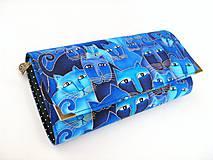 Luxusní modré čičiny - velká na spoustu karet