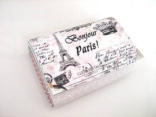 Červánky v Paříži - peněženka i na karty