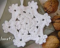 Dekorácie - Vianočná či zimná dekorácia - 4593112_