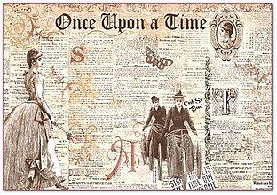 Papier - Ryžový papier, Once Upon a Time - 4595060_
