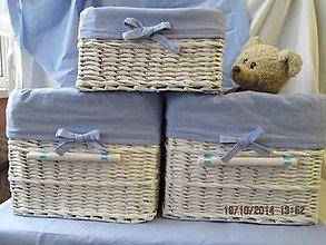 Detské doplnky - MIŠKO I -baby box - 4593335_