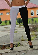 Nohavice - Čiernobiele legíny - 4594616_