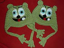 Detské čiapky - Gumimackovia pre dvojíčky ;-) - 4591872_