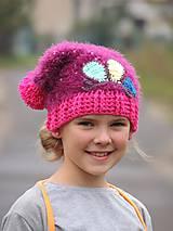 Detské čiapky - Homeless s motýľom - 4591859_