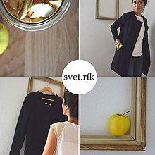 Kabáty - svet.rík čierny - 4600370_
