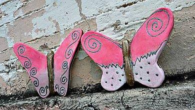 Dekorácie - Motýle - 4599532_