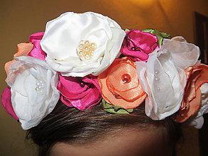 Ozdoby do vlasov - juchúúú parta - 4596936_