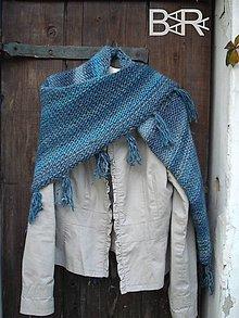 Iné oblečenie - vlniak tyrkysovomodrý - 4599994_