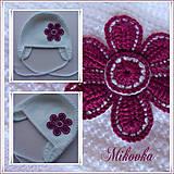 Detské čiapky - ciapocka kvetinka - 4598202_