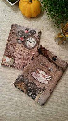 Drobnosti - Luxusný obal na knihu - pre ženu - 4605378_