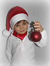 Detské čiapky - Vianočná čapica - 4604243_