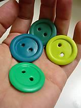 Materiál ručne robený - Set zelený... - 4602041_
