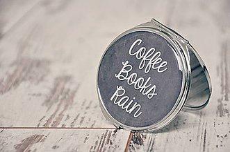 Zrkadielka - Coffee, Books and Rain - 4601604_