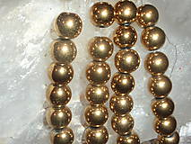 - Hematit zlatý 10mm - 4605010_