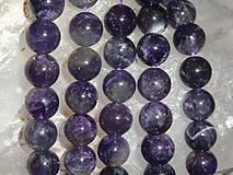 Minerály - Ametyst tmavý 10mm - 4605039_