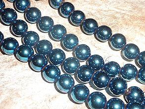 Minerály - Hematit modrý 8mm - 4604842_