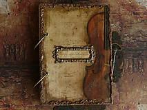 Papiernictvo - Krásna hudba pán kráľ......to sú tóny života/ posledný kus (Diár smotanové strany/ banán zvnútra/ 1 deň/ 1 strana) - 4603776_