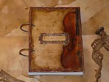 Papiernictvo - Krásna hudba pán kráľ......to sú tóny života/ posledný kus (Diár smotanové strany/ banán zvnútra/ 1 deň/ 1 strana) - 4603809_