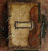 Papiernictvo - Krásna hudba pán kráľ......to sú tóny života/ posledný kus - 4603918_