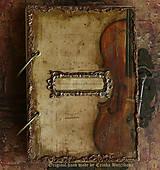 Papiernictvo - Krásna hudba pán kráľ......to sú tóny života/ posledný kus (Diár smotanové strany/ banán zvnútra/ 1 deň/ 1 strana) - 4603926_