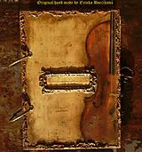 Papiernictvo - Krásna hudba pán kráľ......to sú tóny života/ posledný kus (Diár smotanové strany/ banán zvnútra/ 1 deň/ 1 strana) - 4603988_