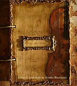 Papiernictvo - Krásna hudba pán kráľ......to sú tóny života/ posledný kus (Diár smotanové strany/ banán zvnútra/ 1 deň/ 1 strana) - 4604210_