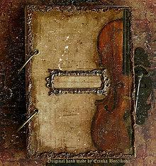 Papiernictvo - Krásna hudba pán kráľ......to sú tóny života/ posledný kus (Zápisník smotanové strany čisté/ako banán zvnútra/) - 4603918_