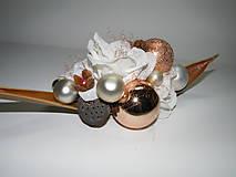 Dekorácie - Vianočná dekorácia_šampanské - 4609608_