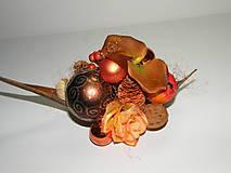 Dekorácie - Vianočná dekorácia_ oranžovohnedá - 4609631_