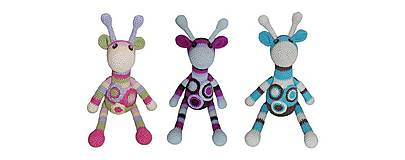 Kurzy - Kreatívny kurz - Hačkované hračky - 4606538_