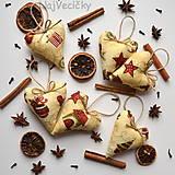 Vianoce - Vianočné srdiečka - 4607394_