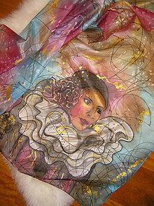 Šály - Pierrot woman... - 4605746_