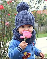 Detské čiapky - brmbolcový setík UNISEX - 4607260_