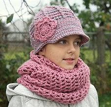 Detské čiapky - pre malú aj veľkú slečnu - 4607341_
