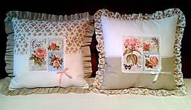 Úžitkový textil - Romantické obliečky - 4607269_