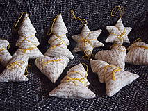 Dekorácie - vianočné ozdoby-sada - 4614069_