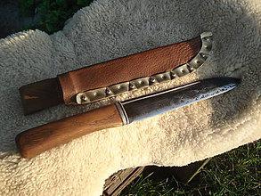 Nože - Veľkomoravský bojový nôž - 4618444_