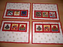 Úžitkový textil - Vánoční prostírání - 4617921_