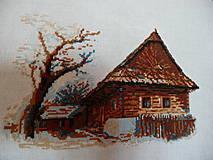 Úžitkový textil - Drevenica z Veličnej - 4617526_
