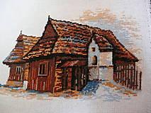 Úžitkový textil - Drevenica z Krušetnice - 4617762_