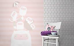 Detské doplnky - obrazová tapeta Happy kittens - 4618115_