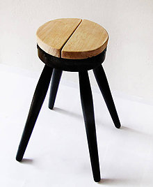 Nábytok - kulatý stolek - 4616004_