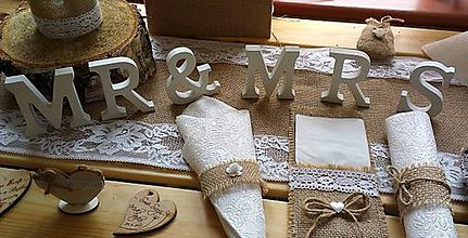 Úžitkový textil - Jutovinové príborníky - 4617160_