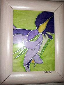 """Obrazy - Obraz """" hodvábny iris """" - 4617374_"""