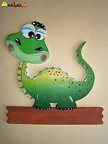 Tabuľky - Menovka - dinosaurus - 4616235_