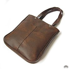 Veľké tašky - SCHOOL & OFFICE - Uni (dark chocolate) - 4618763_