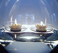 Svietidlá a sviečky - Plovoucí designové čočky - 4623609_