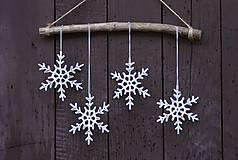 Dekorácie - Snehové vločky - 4623201_