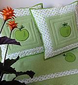 Úžitkový textil - Vankúš - Jabĺčko - 4623503_