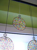 Dekorácie - deň je krásny priemer 10cm -dekorácia - 4624788_
